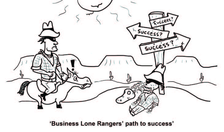 Lone Ranger - business owner mistakes